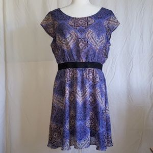 Lavender Cute and Casual Dress